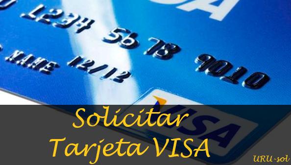 solicitar tarjeta visa