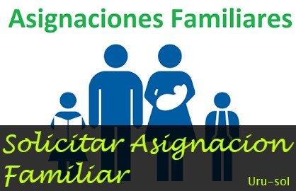 solicitar asignación familiar