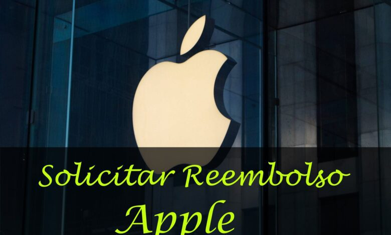 solicitar reembolso apple