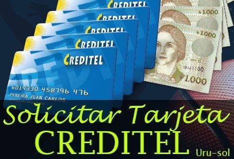 solicitar tarjeta creditel
