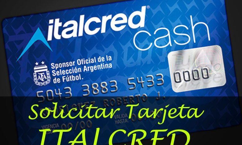 solicitar tarjeta italcred