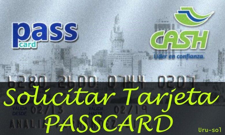 solicitar tarjeta passcard